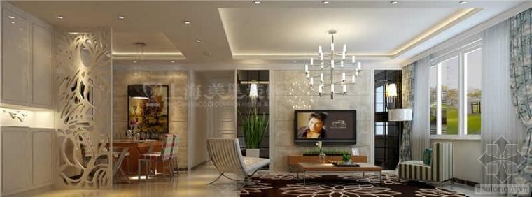 中海锦苑89平两室两厅装修设计分享