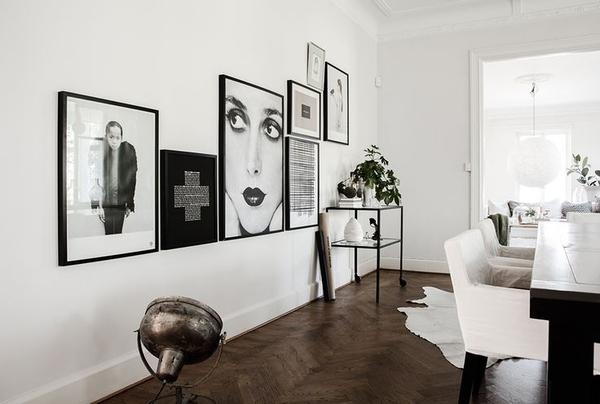 由易到难的装饰画挂法,营造空间氛围的好元素!