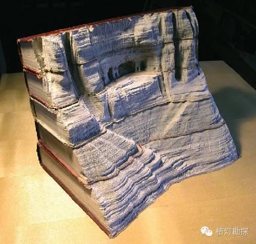 膜拜!用书籍做出来的地质景观,你一定没见过