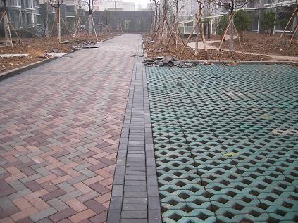 彩色水泥砖路面施工工艺