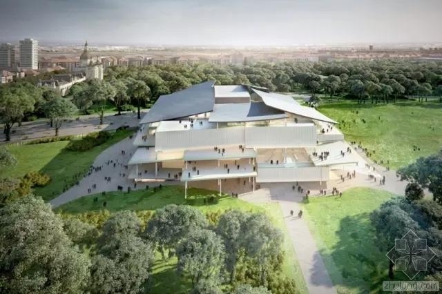 他们是用什么方案中标了世界上最大的博物馆