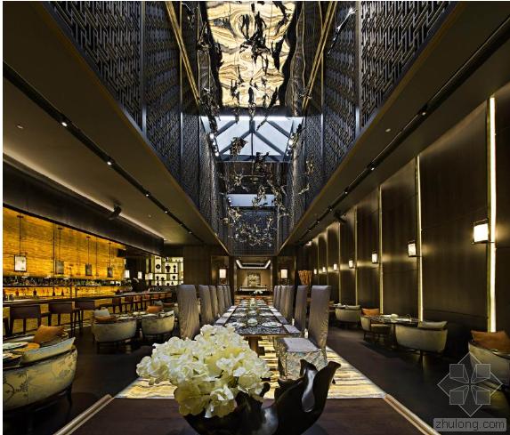迪拜棕榈岛亚特兰蒂斯度假酒店元餐厅——中式风韵的华美诠释
