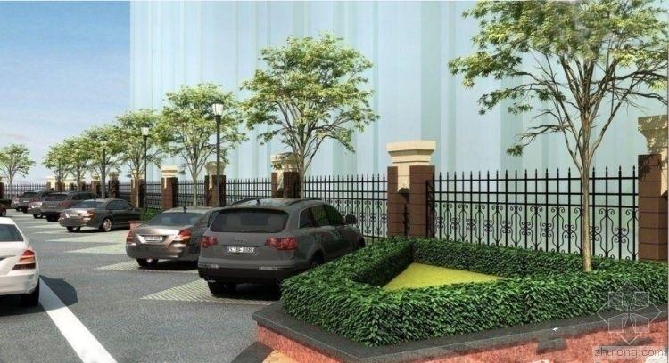 实用与景观的融合--浅析生态停车场规划设计