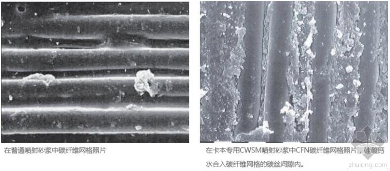 碳纤维网格加固工法的优点