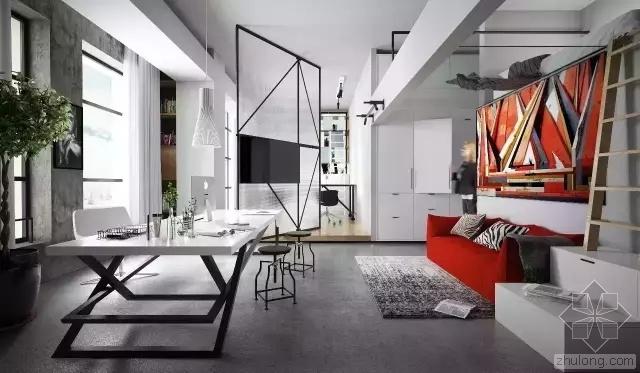 设计师眼里,20平米也可以是宽敞住宅
