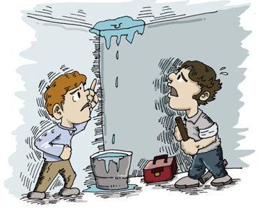 房屋漏水减损建筑寿命—漏水夏病要冬治