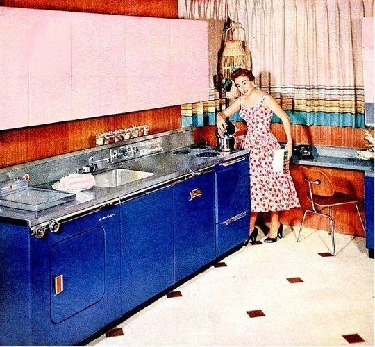 从旧时光厨房偷灵感 8 个来自复古厨房的空间装饰