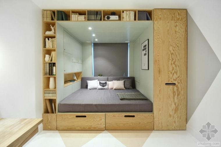 为14岁女孩设计的极简房间,或许也能给你一点灵感