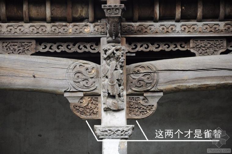 解读中国古建构件丨雀替之美