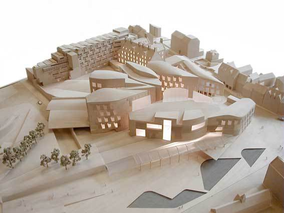混凝土的新发展—苏格兰新议会大楼混凝土运用案例分析