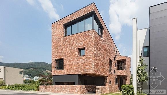 10米挑高的房子却要分出11个楼层,韩国这栋别墅做到了