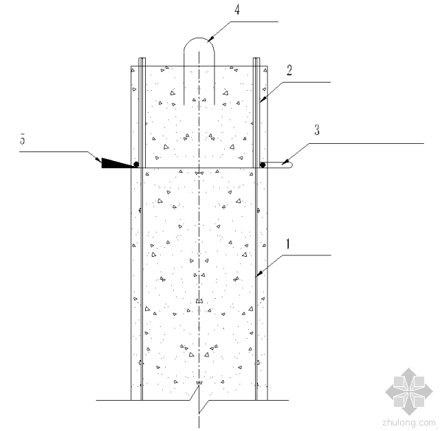 一種鉆孔灌注樁樁頭快速取除施工方法