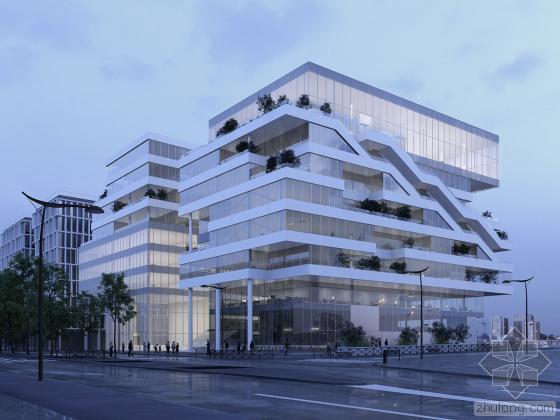 法国奥斯特里兹开发区商业综合体