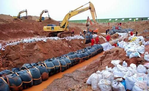 管线穿越河流施工技术案例分析
