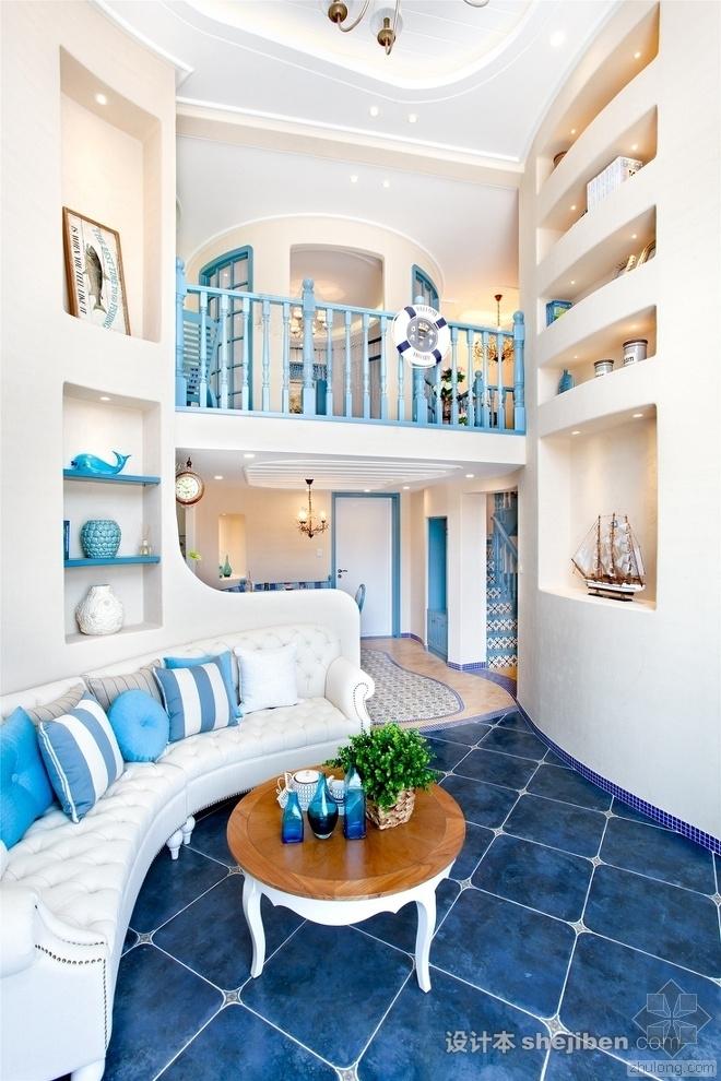 地中海风格的130平样板房,美的有个性!