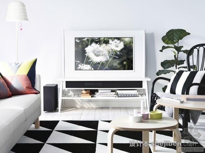 60款宜家风格客厅,给你一个简约舒适的家