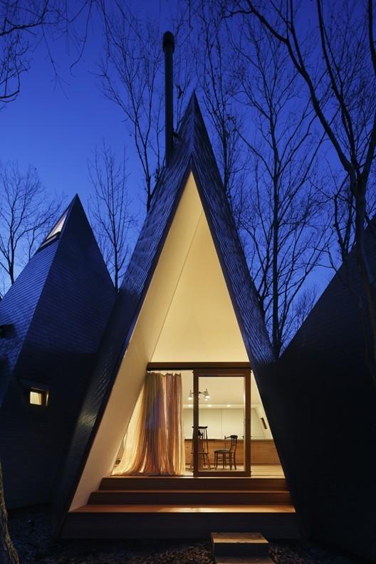 日本Nasu锥形住宅/HiroshiNakamura&NAP_7