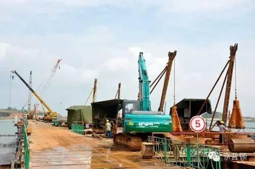 专业知识 : 港口工程桩基设计及施工特点