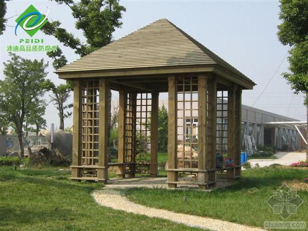 防腐木凉亭施工工艺流程以及相关注意事项解析
