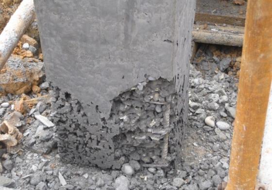 混凝土烂根现象的处理办法!