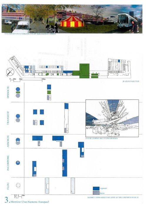建筑色彩学之建筑出图配色分析