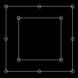 高层建筑勘探点的平面布设规定