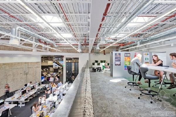 感受创意和魅力的开放式的办公空间设计