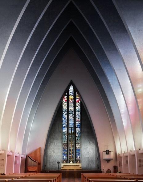 神圣!威严!现实主义教堂