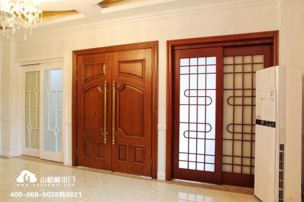 重庆山楂树木门:木门和家装风格的搭配