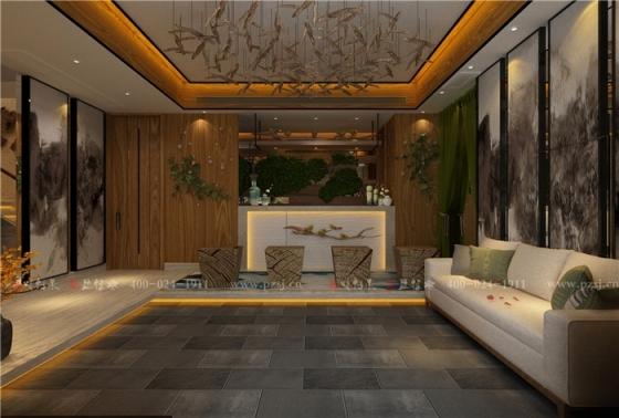 [品筑最新动态]营口天木香养生沐浴馆项目设计施工进行中