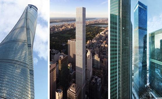 2015年世界超高层建筑创纪录