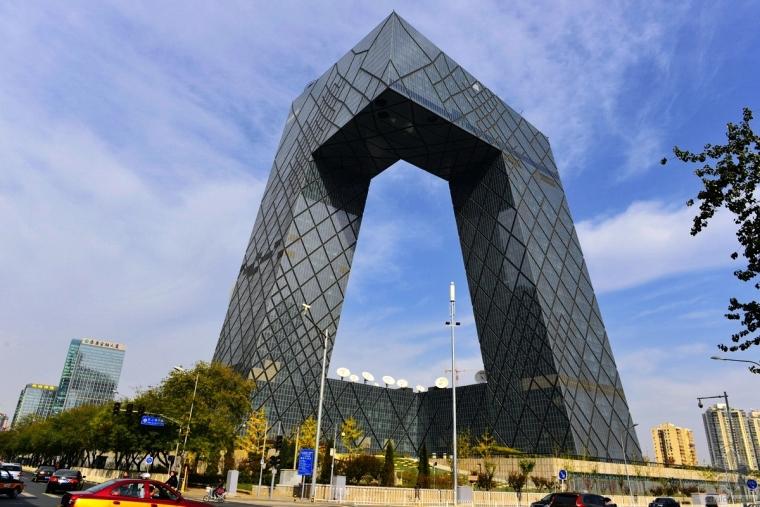 """美媒:中国的""""奇葩""""建筑风格的终结"""