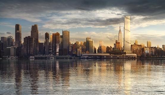 """BIG建筑事务所在纽约的又一力作""""螺旋大厦"""""""