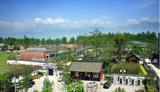 穿越时空的对白,四川绵竹博物馆