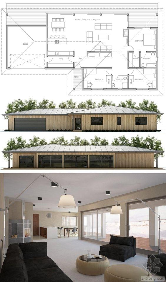 分享一些现代建筑平面图