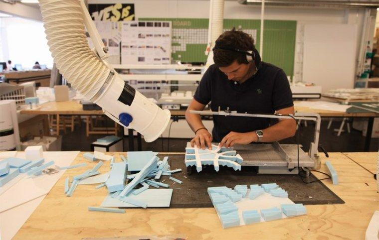 BIGarchitects工作室的模型