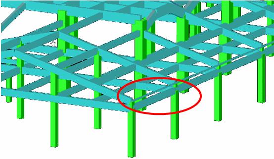 坡屋面的结构建模与计算