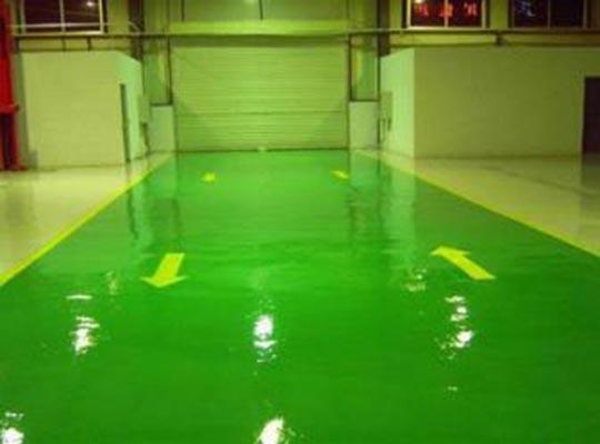 环氧薄涂地坪地下车库的施工方案