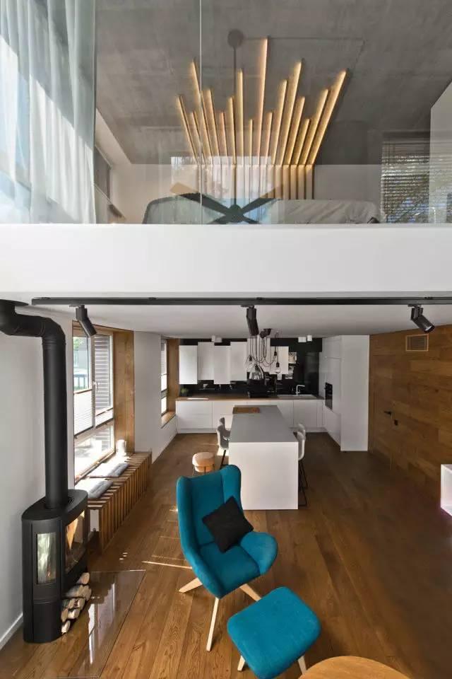 85 平米的北欧风 loft,又是一个好品味的设计样板