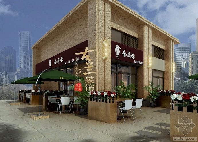 都匀餐厅设计——金奕德快餐厅