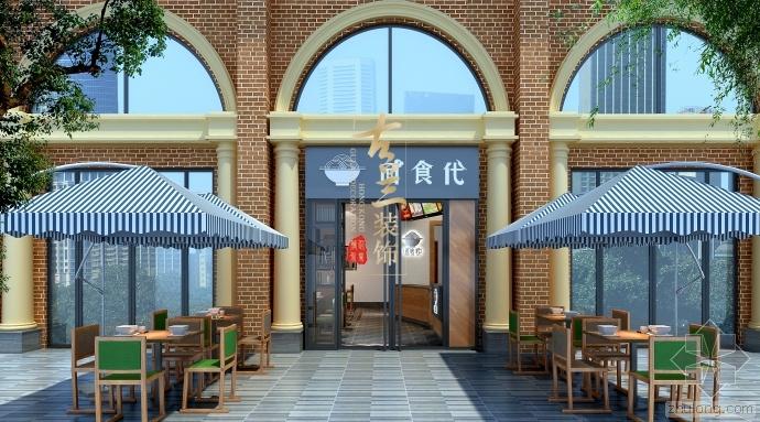 梧州餐厅设计——面食代快餐厅