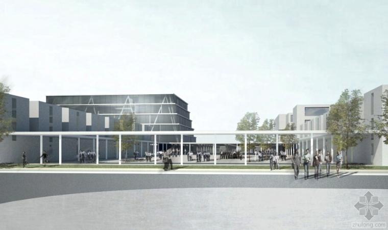 一个蒙古中学概念设计