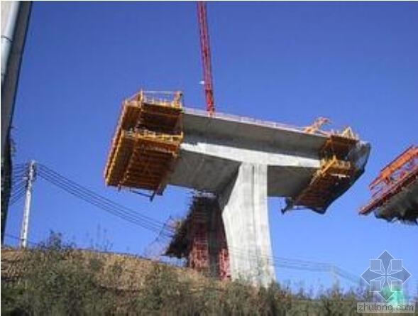 连续梁桥悬臂灌筑法施工技术