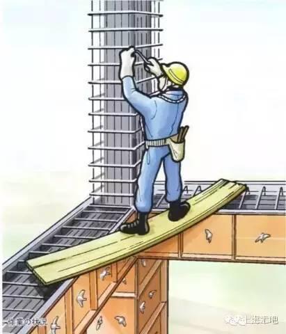 28张漫画详解你可能不知道的钢筋工作业