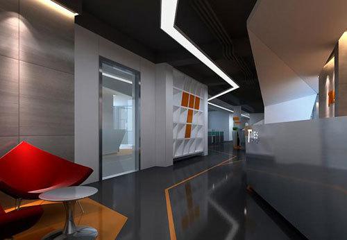 现代办公空间设计说明 设计理念展现