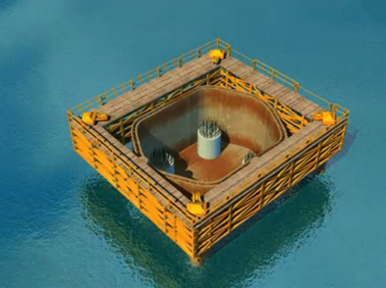 2分钟动画看完水下钻孔灌注桩施工全过程,超经典!