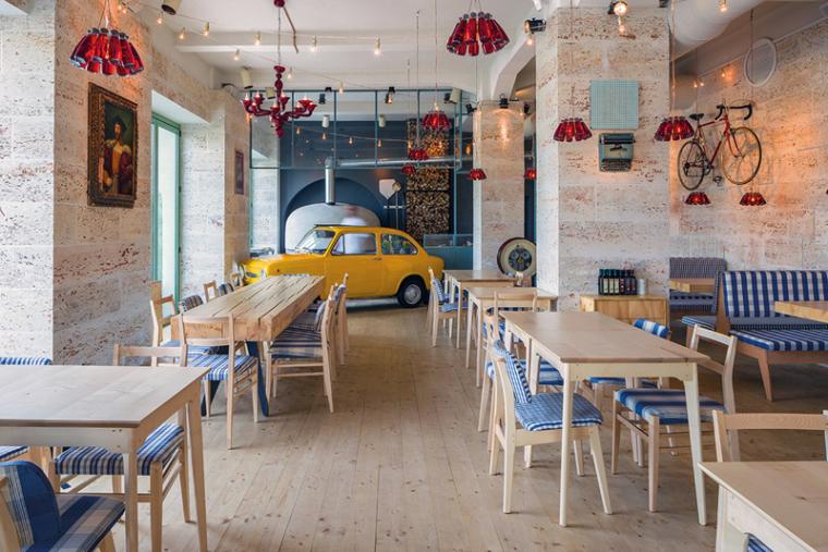 布加勒斯特:托斯卡纳风格的 Bocca Lupo 餐厅