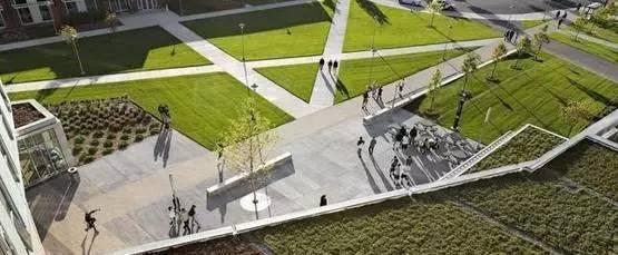 """道路景观设计欣赏:塞勒姆州立大学""""湿地走廊""""!"""