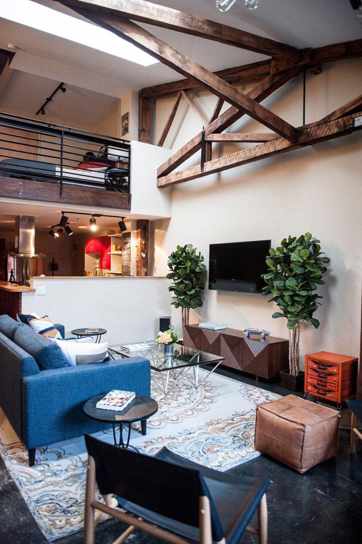 奥克兰:不拘一格的LOFT公寓