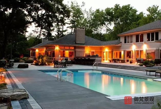 别墅庭院设计营造私密性